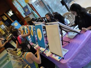 A Splashing Kids' Paint Party
