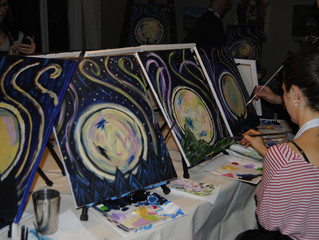 Paint Party in Port Moody