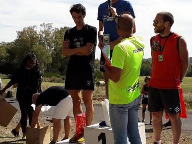 VICTOIRE DE FABIEN CHARTOIRE SUR LE 25 KM DE LA COURSE DES VOLCANS
