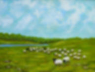 Sheep In The Meadow photoP1010891.JPG