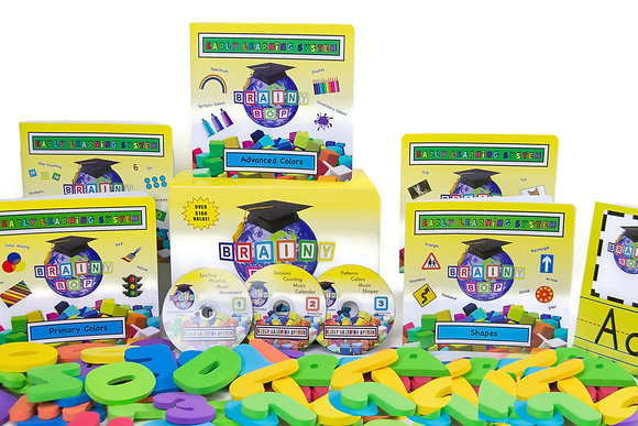 BRAINY BOP EARLY LEARNING SYSTEM