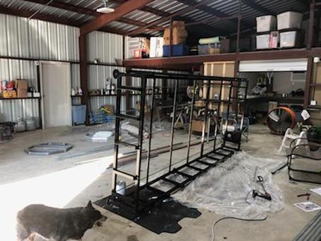 Aquaponic build 2021