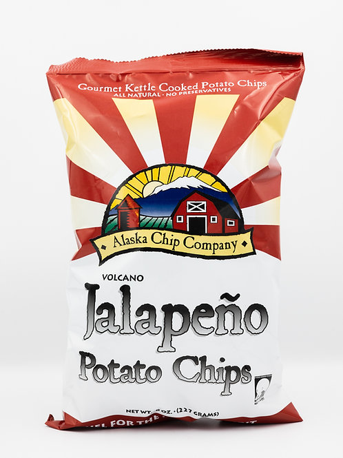 Volcano Chips - Jalapeno 4 pack 8 oz bags