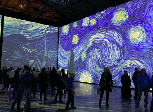 OLD MONTREAL | Step into The Mind of a Great Artist with Imagine Van Gogh's Striking Instillations
