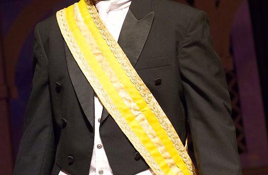 Tenor Timothy Birt as Don Ramiro in La Cenerentola