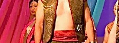 Tenor Timothy Birt as Nadir in Les Pecheurs de Perles