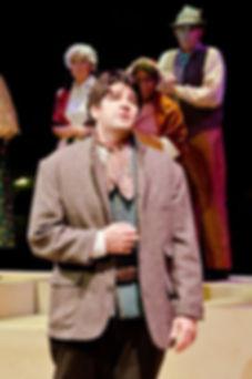 Tenor Timothy Birt as Elvino in La Sonambula
