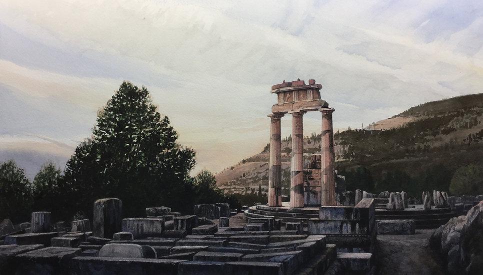 Sanctuary of Athena, Delphi