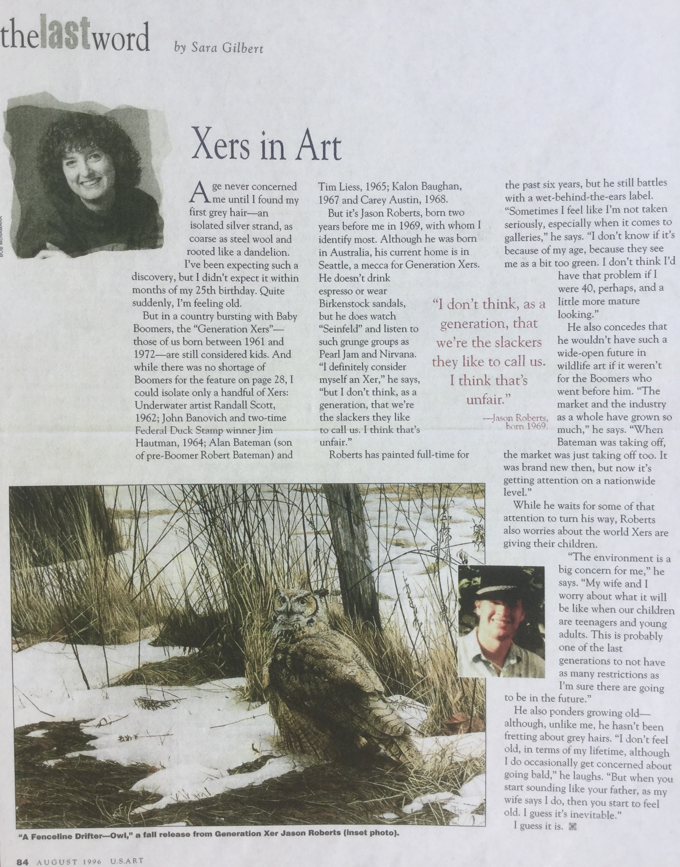 USArt (USA )August 1996