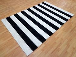 Black White Stripe 1