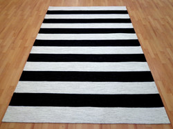 Black White Stripe 2