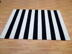 Black White Stripe 3