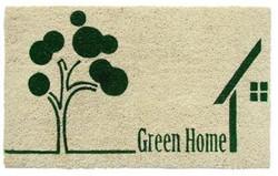 Green Home Printed natural coirmat