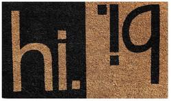 Hi Bi Printed Natural Coir mat