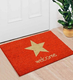 red coir welcome