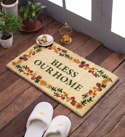 Bless our home coir mat
