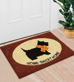 White&Brown Coir Home sweet home