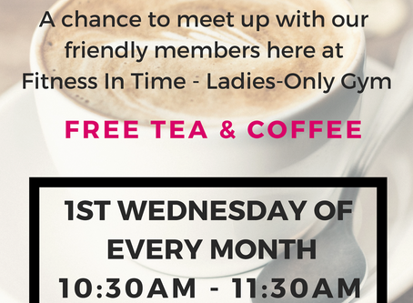 Monthly Coffee Morning!