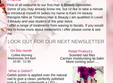 Beauty Newsletter - Abingdon