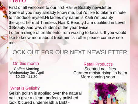 Beauty Newsletter - Abingdon