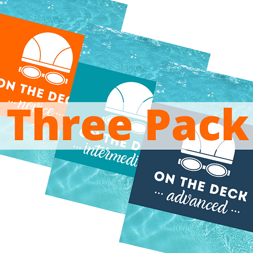ON THE DECK: 3-Pack of Cards