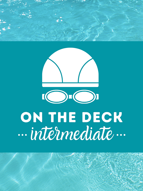 ON THE DECK: Intermediate Workout Cards