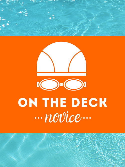 ON THE DECK: Novice Workout Cards