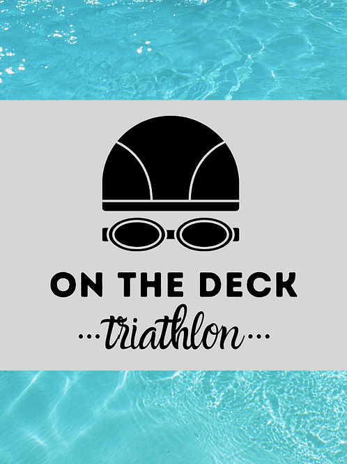 ON THE DECK: Triathlon Workout Cards