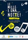 """""""LE MILLE E UNA ... NOT❌E""""! 14 settembre ore 20.30, scuola Maria Ausiliatrice, via Sergnan"""