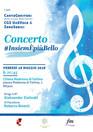 #InsiemÈpiùBello  concerto venerdì 18 maggio, ore 20.45 Cantagenitori, UnaVoce &  ZeroSedici