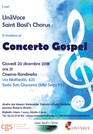 Concerto Gospel dei cori UnāVoce e Saint Basil's Chorus, giovedì 20 dicembre 2018 ore 21 cinema Rond