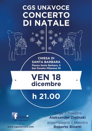 CONCERTO DI NATALE 2015 Chiesa di Santa Barbara - San Donato Milanese