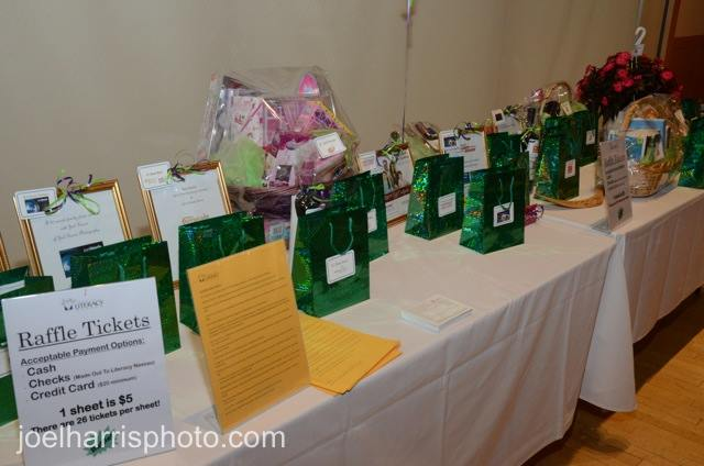 Raffle table 3