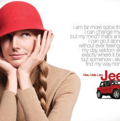 """Jeep """"I Am Jeep_print campaign"""
