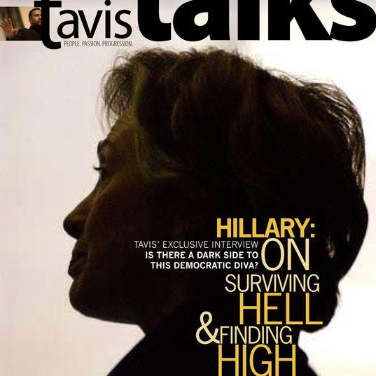"Tavis Talks Magazine Cover_ ""Hiliary Clinton"" Prototype"