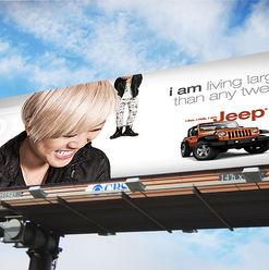 """Jeep """"I Am Jeep_OOH campaign"""