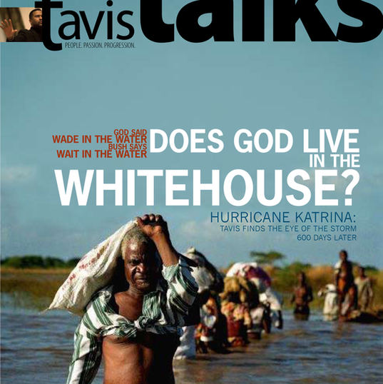 "Tavis Talks Magazine Cover_ ""Katrina"" Prototype"