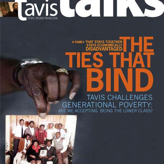 "Tavis Talks Magazine Cover_ ""Generations"" Prototype"