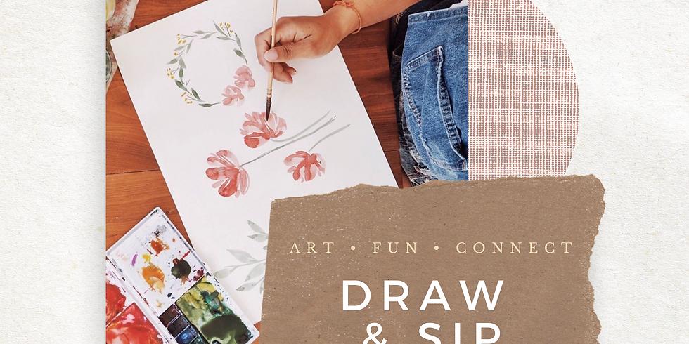 Draw & Sip