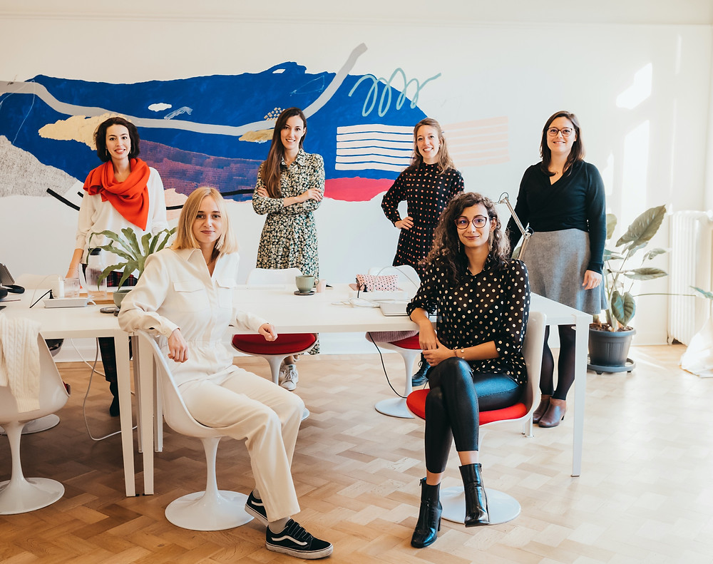 All-female community & coworking space in Brussels