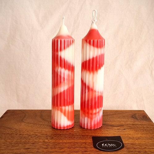 Swish - Sorbet Candle Stick, Pair