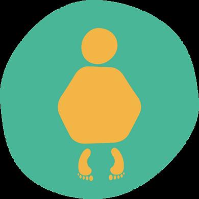 orange human figure