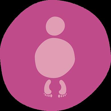pink human figure