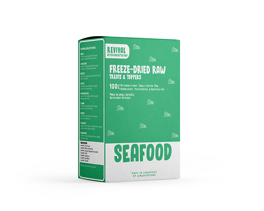 Seafood | Revival Freeze Dried Raw