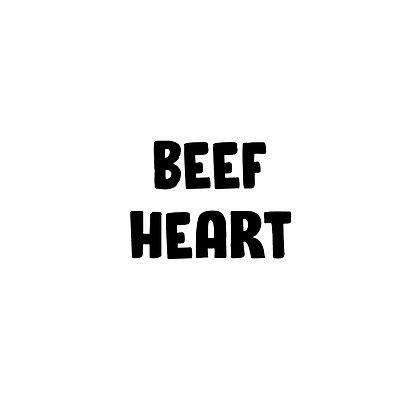 Grass Fed Beef Heart | DIY