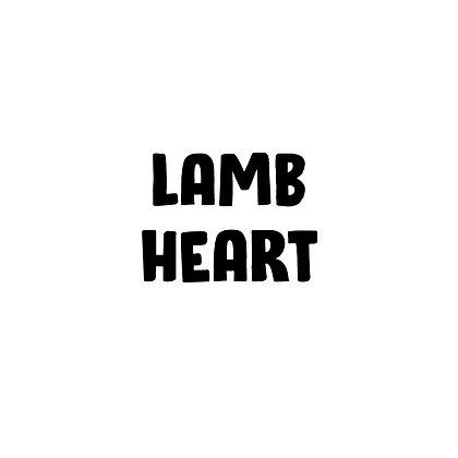 Grass Fed Lamb Heart   DIY