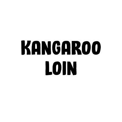 Wild Caught Kangaroo Loin | DIY