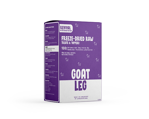 Grass-Fed Goat Leg | Revival Freeze Dried Raw