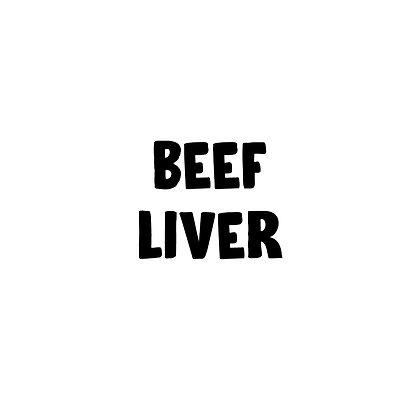 Grass Fed Beef Liver | DIY