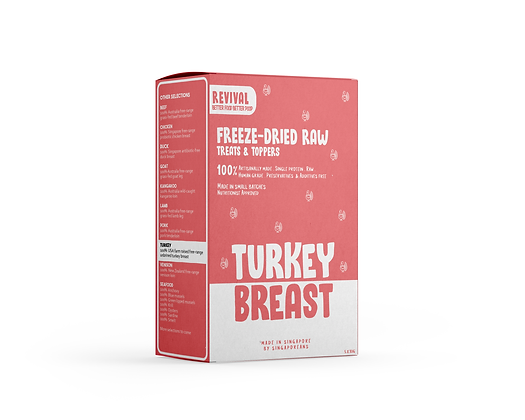 Free Range Turkey Breast | Revival Freeze Dried Raw
